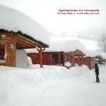 campeggio neve